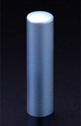 チタン印鑑/銀行印 プリズム【カラー】 シーマスター 15.0mm 【印鑑ケース付】