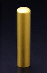チタン印鑑/実印 プリズム【カラー】 クラウン 13.5mm 【印鑑ケース付】