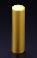 チタン印鑑/実印 プリズム【カラー】 クラウン 16.5mm 【印鑑ケース付】