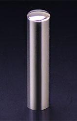 チタン印鑑/実印 プリズム【カラー】 ギャラクシーミラー 13.5mm 【印鑑ケース付】