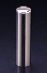チタン印鑑/実印 プリズム【カラー】 ギャラクシーミラー 15.0mm 【印鑑ケース付】