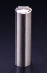 チタン印鑑/実印 プリズム【カラー】 ギャラクシーミラー 16.5mm 【印鑑ケース付】