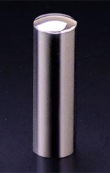 チタン印鑑/実印 プリズム【カラー】 ギャラクシーミラー 18.0mm 【印鑑ケース付】