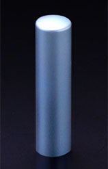 チタン印鑑/実印 プリズム【カラー】 シーマスター 15.0mm 【印鑑ケース付】