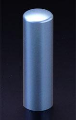 チタン印鑑/実印 プリズム【カラー】 シーマスター 18.0mm 【印鑑ケース付】