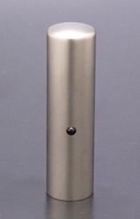 チタン印鑑/実印 ジュエルズチタン オニキス 16.5mm 【印鑑ケース付】