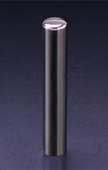 プレミアムチタン/認印 プレミアムブラック 10.5mm 【印鑑ケース付】