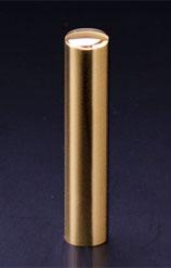 プレミアムチタン/認印 プレミアムゴールド 12.0mm 【印鑑ケース付】