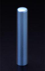 チタン印鑑/認印 プリズム【カラー】 シーマスター 10.5mm 【印鑑ケース付】